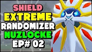 SOLGALEO In The Wild Area! - Pokemon Sword and Shield Extreme Randomizer Nuzlocke Episode 2