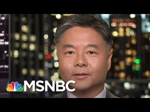 Rep. Ted Lieu: 'Incredible Disrespect' For Rule Of Law By Trump Administration | All In | MSNBC