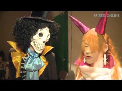 Mangas models monster schriller japan pop in berlin for Youtube spiegel tv