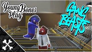 Gang Beasts 0.5.1 Custom Costume Creator - Young Bones Play Gang Beasts 0.5.1 Beta Gameplay
