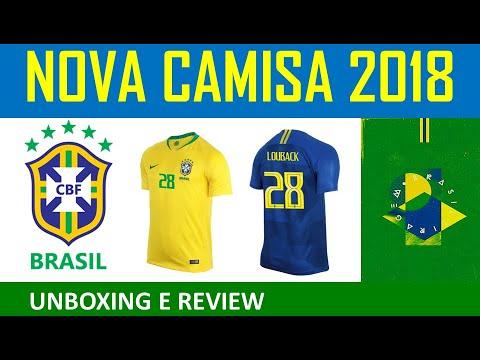 Camisa Seleção Brasileira 2018 - Official Nike Brasil Jersey
