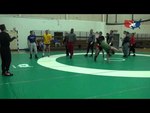 USA Freestyle National Team Warm Up