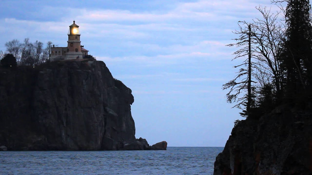 Split Rock Lighthouse Lighting - Remembering the crew of the Edmund Fitzgerald 40 years later & Split Rock Lighthouse Lighting - Remembering the crew of the Edmund ...