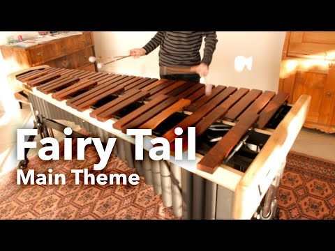 Fairy Tail Main Theme Cover | Marimba Maurice