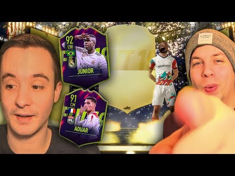 HE DEFINITELY HAS THE BETTER PACK LUCK RIGHT NOW!!! - FIFA 19 ULTIMATE TEAM PACK OPENING