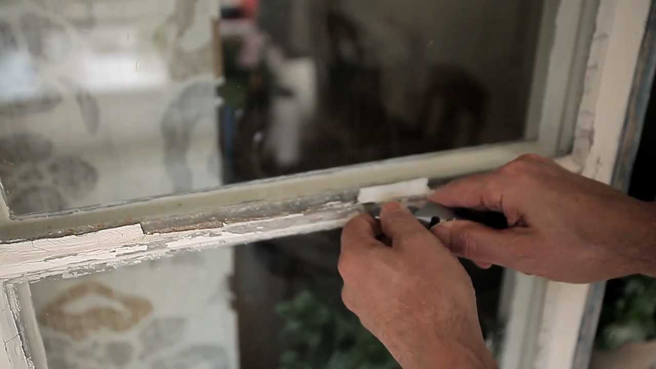 Fönster renovera fönster : MÃ¥la fönster - steg för steg - YouTube