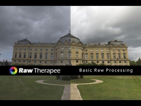 Rawtherapee - Basic Raw Processing