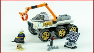 LEGO CITY 60225 Rover Testing Drive Control Construction Toy - UNBOXING
