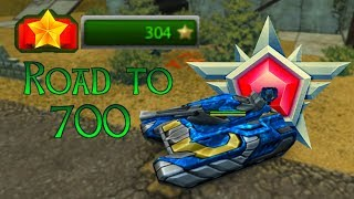 Road to 700 Stars! 300 Already!! Tanki Online - танки Онлайн