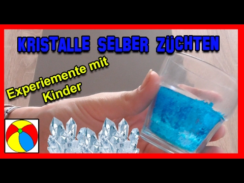 kristalle selber z chten experimente mit kindern diy einfach selber machen hd youtube. Black Bedroom Furniture Sets. Home Design Ideas