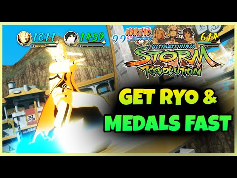 Naruto Storm Revolution How to get RYO and MEDALS FAST