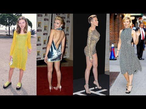 Scarlett Johansson S Style And Fashion Evolution 1994 2019 Youtube