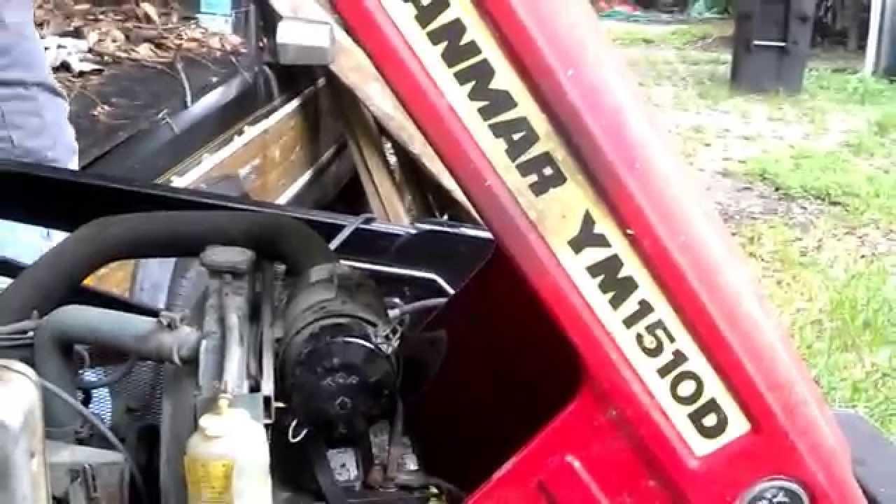 Yanmar Diesel Tractor 1981 Bleed system