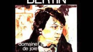 Jacques BERTIN Menace / Album Domaine de Joie (1977)