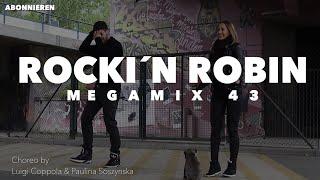 Rockin Robin - Michael Jackson - Zumba Fitness Megamix 43 JIVE - Choreo by Lui & Paulina