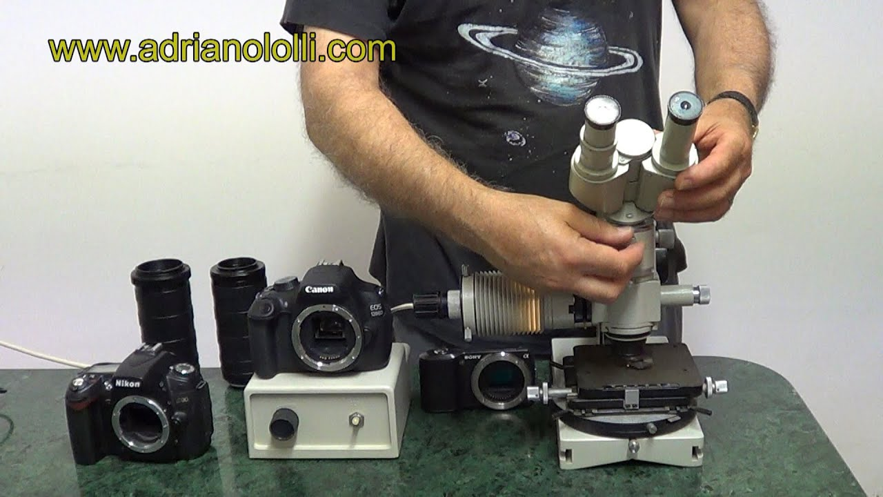 Adapter microscope lomo for camera nikon canon sony ecc.ecc