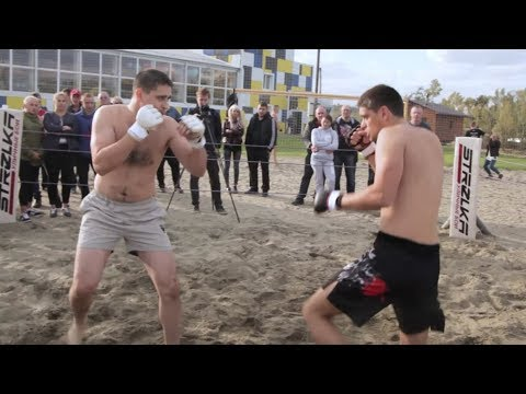 STRELKA Middleweight fight in Siberia