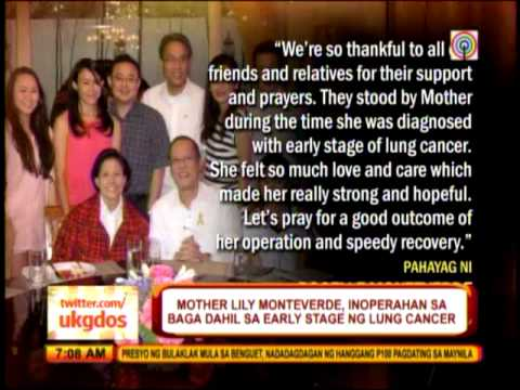 PNoy wishes Mother Lily well