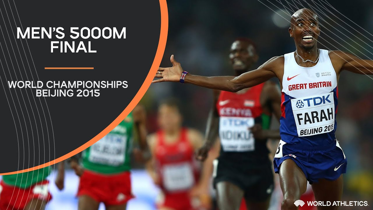 Men's 5000m Final   World Athletics Championships Beijing 2015