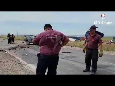 Grave accidente en la ruta 50