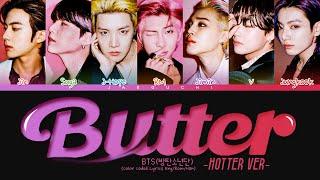 Download BTS Butter (Hotter Remix) Lyrics (Color Coded Lyrics)