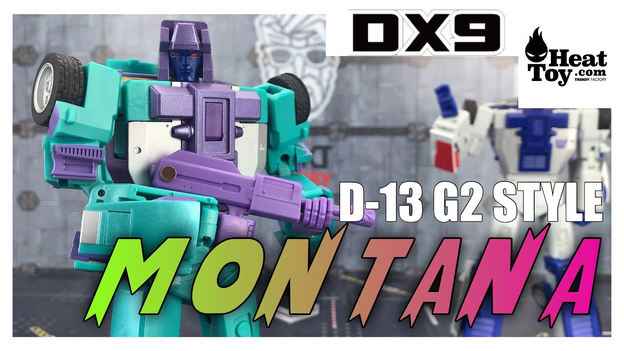 DX9 Toys D13 MONTANA Transformers G2 Masterpiece Breakdown