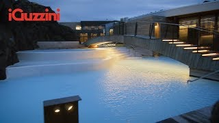 Intimate outdoor atmosphere | The Retreat spa at Blue Lagoon - Grindavík, Iceland