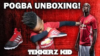 Paul pogba adidas unboxing | my first ever laceless boots!! | tekkerz kid
