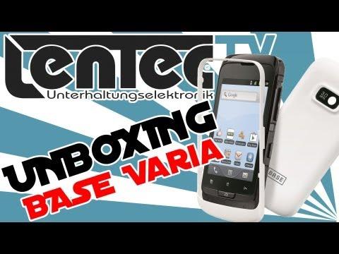 LENTEC Unboxing - BASE Varia (Alcatel one touch 918D)