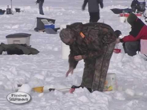 Jackfish Lake Ice Fishing Derby On Fishing Saskatchewan