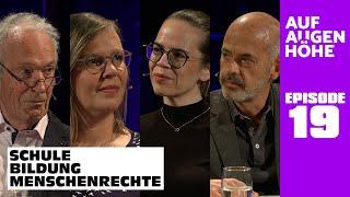 SCHULE – BILDUNG – MENSCHENRECHTE mit Norma Grube, Antje Pietsch, Hans-C. Prestien und Michael Hüter