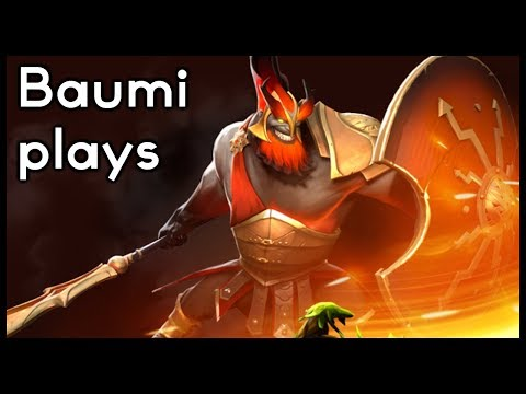 Dota 2 | MARS IS CRAZY STRONG!! | Baumi plays Mars