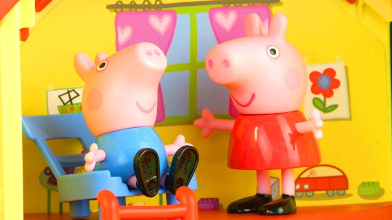 Peppa Pig Goes on a Holiday   Peppa Pig Stop Motion   Peppa Pig Toy Play