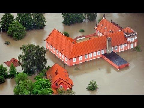 Emergencia por inundaciones en el centro de Europa