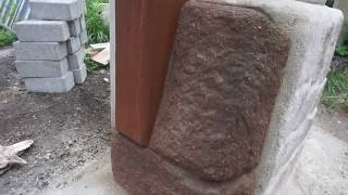 Making artificial rocks with concrete - Make your own Fake Rocks