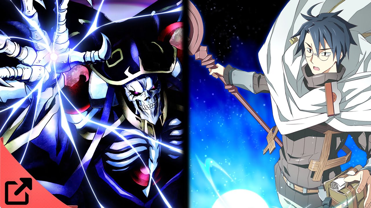 Overpower Anime Like Overlord