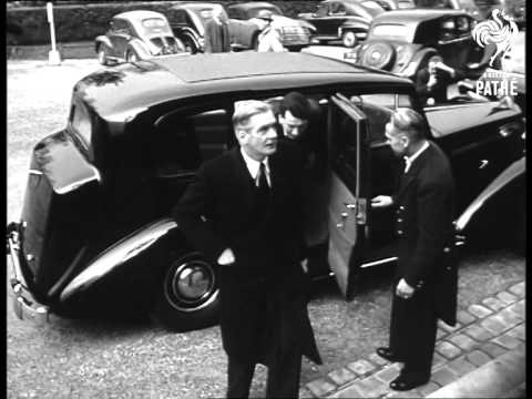 Council Of Europe Meet In Paris (1952)