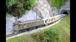 【第8回鉄道模型運転会】EF510×2両、EF210、EF67、0系、DE15ラッセル試運転など