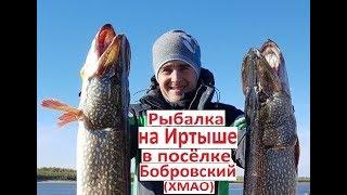 Риболовля на Іртиші в селищі Бобровський (ХМАО)