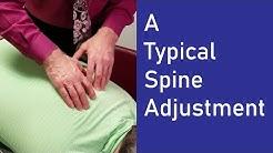 Typical Spine Adjustment - Chiropractic