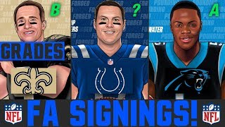 2020 NFL Free Agency Signings & News | Grading NFL Free Agency Latest Signings