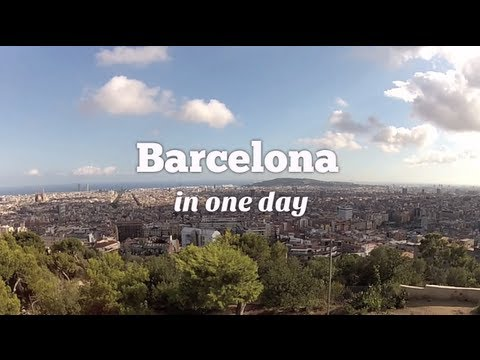 Things to do in Barcelona in one day - Gaudi, Ramblas, Tapas & Barceloneta (Travel Video Blog 031)