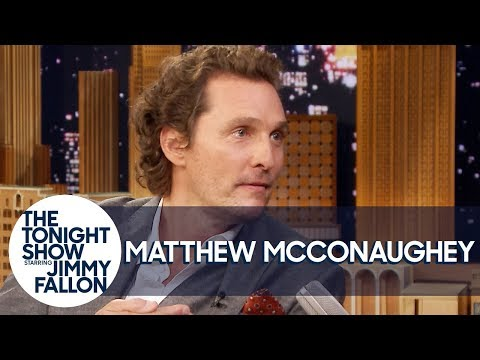 Matthew McConaughey Sampled His Way into Becoming Brand Director for Wild Turkey