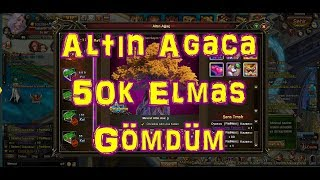 ➜Legend Online Ağaca 50K Elmas Bastım! Server Ağacı Sömürdü!