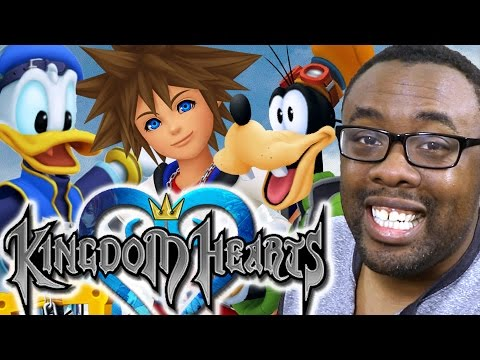KINGDOM HEARTS HD 1.5 + 2.5 ReMIX (MY FIRST TIME) - Black Nerd GamePlay