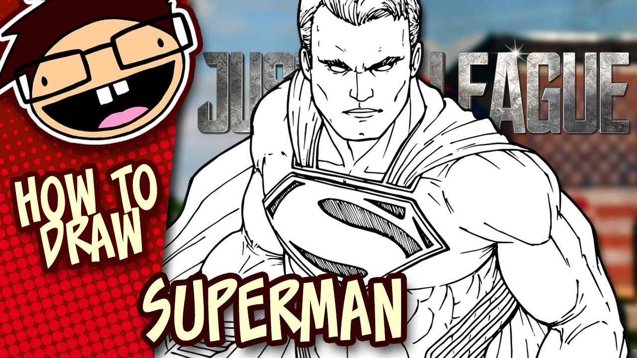 Lesson Preview How To Draw Superman Justice League Super Speed Time Lapse Art Youtube $24.99 justice league cryptozoic artist hand drawn sketch, elvis moura superman 1/1. how to draw superman justice league