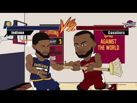 Bron Bron's Rage | LeBron James Playoffs Cartoon