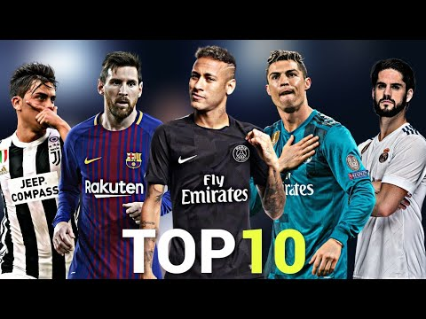 Top 10 Skillful Players in Football 2018