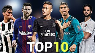 Download Top 10 Skillful Players in Football 2018 Mp3 and Videos