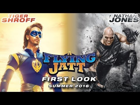 A Flying Jatt | First Look of Tiger Shroff...